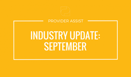 INDUSTRY UPDATE – SEPTEMBER
