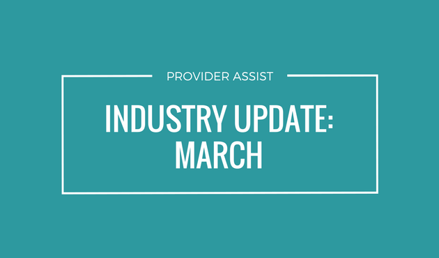 INDUSTRY UPDATE – MARCH
