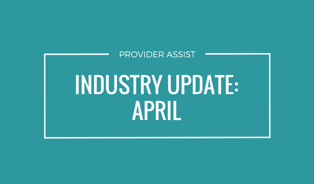 INDUSTRY UPDATE – APRIL