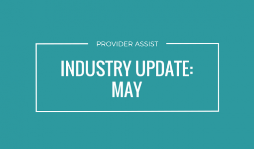 INDUSTRY UPDATE – MAY