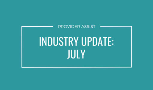 INDUSTRY UPDATE – JULY
