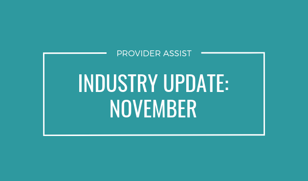 INDUSTRY UPDATE – NOVEMBER