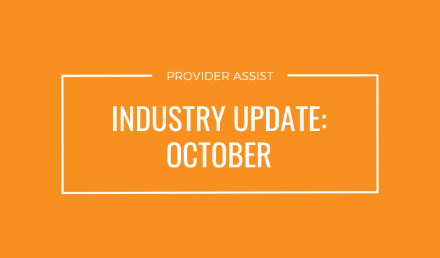 INDUSTRY UPDATE – OCTOBER