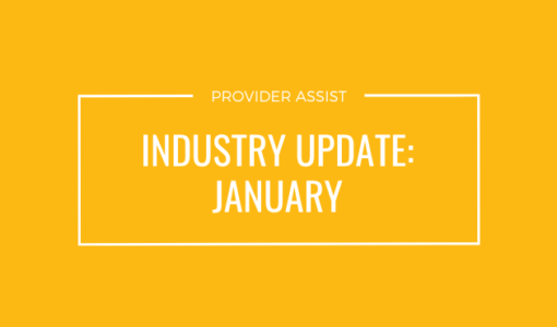 INDUSTRY UPDATE – JANUARY